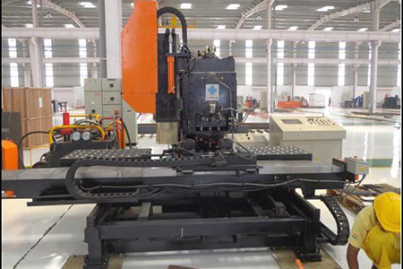 CNC Hydraulic Plate Punching, Drilling, Marking Machine CJHZ110